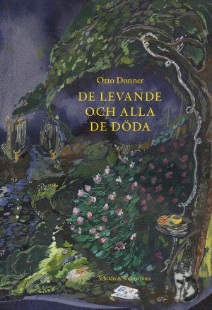 """Pärmen till Otto Donners bok """"De levande och alla de döda""""."""