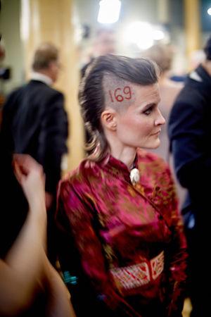 Pauliina Feodoroff Linnan juhlissa vuonna 2015.
