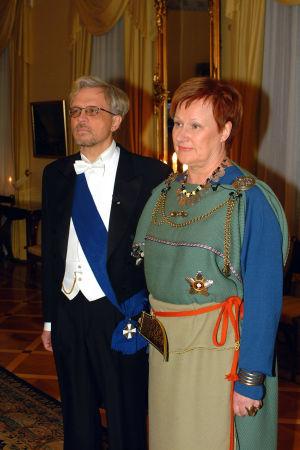 Tarja Halonen vuonna 2001.