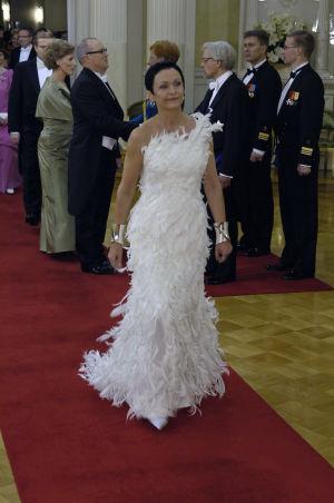 Ritva-Liisa Pohjalainen Linnassa vuonna 2004.