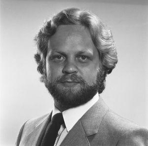Baritoni Sauli Tiilikainen vuonna 1983.