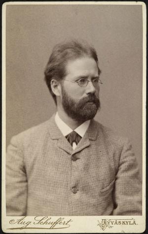 P.J. Hannikainen Jyväskylässä noin 1890.
