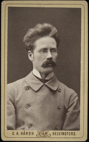 Pekka Hannikainen noin 1875 Helsingissä.