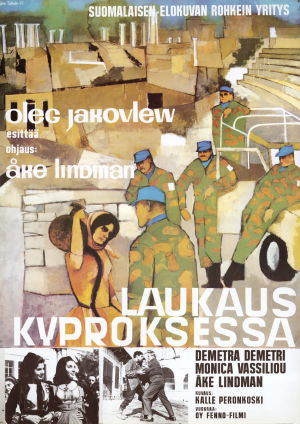 Elokuvan Laukaus Kyproksessa juliste.