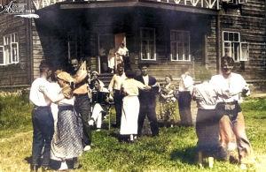 Makatsin lepokodin vieraita kesällä 1937.