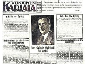 Punainen Karjala vuonna 1931.