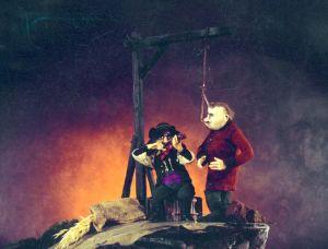 Kuva Laulu hirsipuista -animaatiosta
