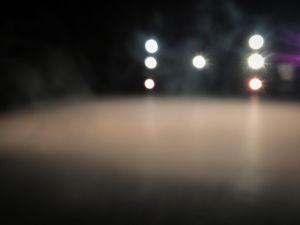 valopisteitä pimeässä