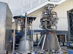 SpaceX raketmotorer Merlin och Raptor.