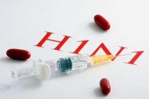 Influensavaccin i en spruta.