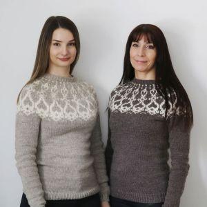 Julia och Pia Vieno