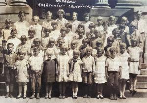 Ohion Warrenin kesäkoulun lapsia 1920-luvulla.