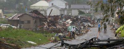 Hem förstördes i Ichira av tyfonen Hagibis.