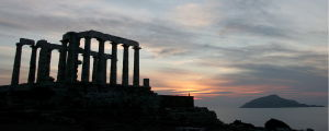 Posiedons tempel i Grekland, strax söder om Aten.