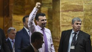Zoran Zaev har utsetts till premiärminister i Makedonien.