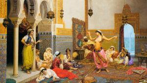 Giulio Rosati: The harem dance