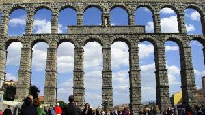 Segovian acueducto, vesijohto