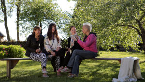 Lena, Ninja, Heidi ja Wilma
