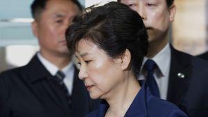 Sydkoreas avsatta president Park Geun-hye