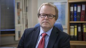 Gösta Willman, stadsdirektör i Nykarleby