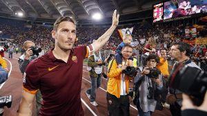 Francesco Totti är en klubblegend hos AS Roma-supportrarna.