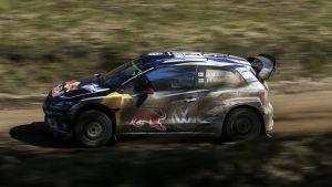 Jari-Matti Latvala avbröt Argentinas VM-rally.
