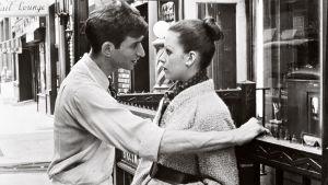 Nuoruuteni Greenwich Village. Kuvassa Lenny Baker ja Ellen Greene. Yle kuvapalvelu.
