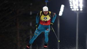 Martin Fourcade i skidspåret