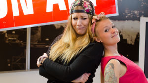 Pernilla Karlsson och Frida Lindholm.