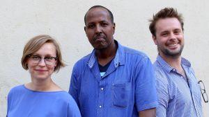 Eva Nilsson, Mubarak M. Yusuf och Niklas Saxen har skrivit rapporten Suomen somalit.