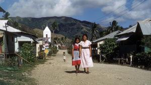 Umaticin kylässä Guamin saarella 1950