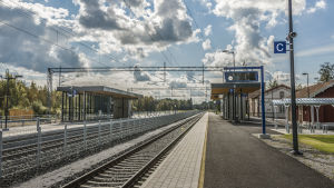 Bennäs tågstation