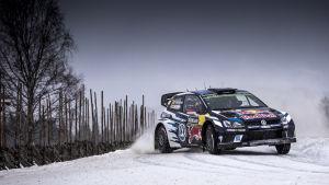 VM-rallyt i Sverige har präglats av strul för Jari-Matti Latvala.