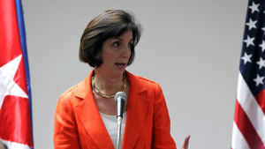 USA:s biträdande utrikesminister Roberta Jacobson.