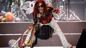 Steven Tyler från Aerosmith