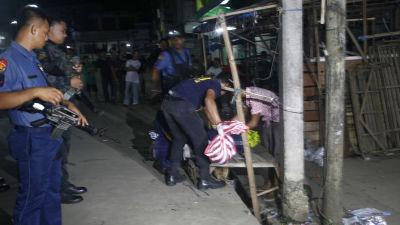 Fyra filippinska gisslan dodade i strider
