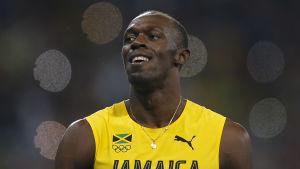 Usain Bolt under OS i Rio.