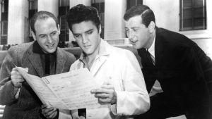 Mike Stoller, Elvis Presley och Jerry Leiber