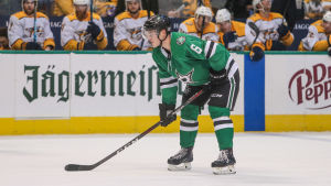 Dallas Julius Honka i en match mot Nashville.