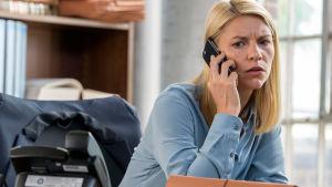 Claire Danes i serien Homeland, säsong 6
