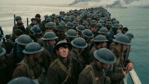 Sotilaita elokuvassa Dunkirk