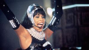 Whitney Houston i filmen Bodyguard.