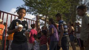 Demonstrationsmarschen mot gränsen kommer att upplösas när deltagarna når Mexiko city