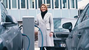 Christina Bu, generalsekreterare på norska elbilsförbundet.