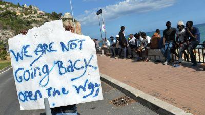 Italien och libyen kritiseras for flyktingpolitik