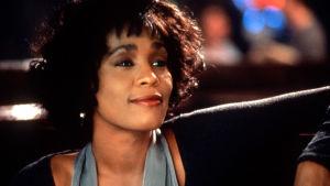 Whitney Houston i filmen The Bodyguard.