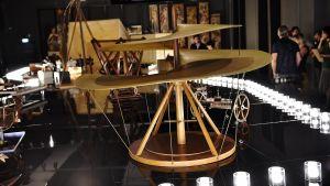 DA Vincis modell eller konstruktion