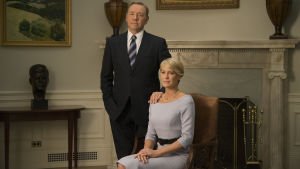 Kevin Spacey och Robin Wright i House of Cards