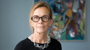 Porträttbild på Agneta Broberg, Diskrimineringsombudsman i Sverige.