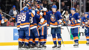 New York Islanders firar.